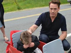 why 'iron man' robert downey jr. makes children cry (photo)